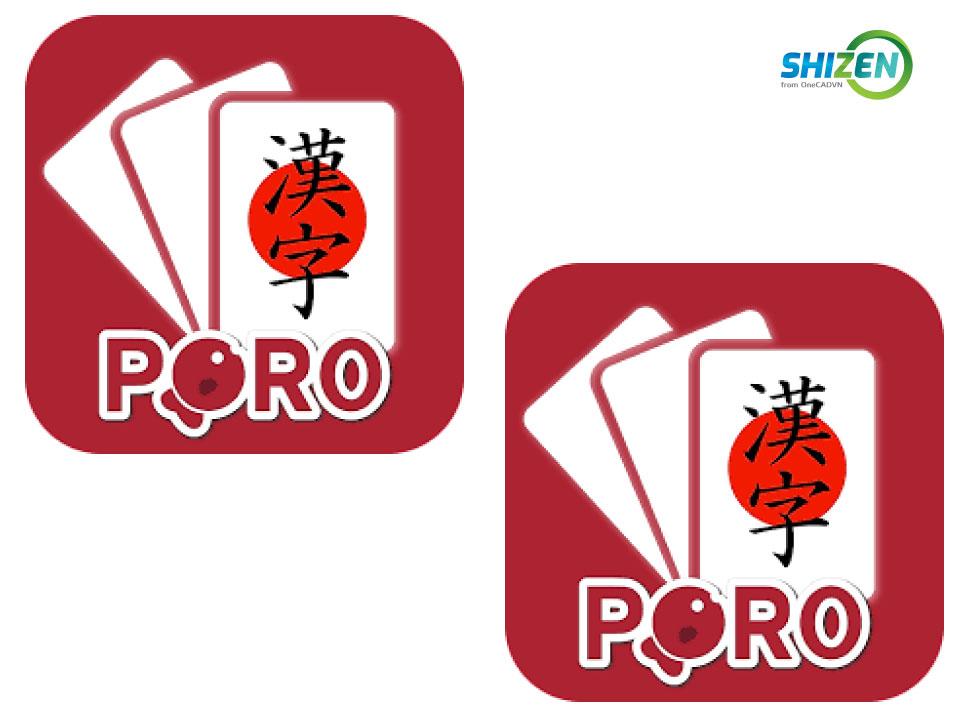 Phần mềm học tiếng Nhật - Poro