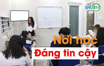 Nơi học tiếng Nhật tin cậy