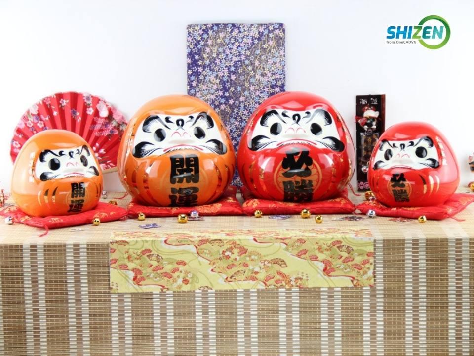 Daruma nguyện ước và là biểu tượng của tinh thần Nhật Bản - vượt lên mọi khó khăn
