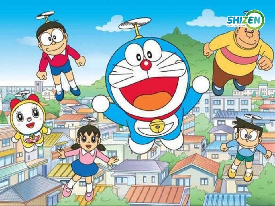Học nghe qua phim Doraemon - ôn thi JLPT N5