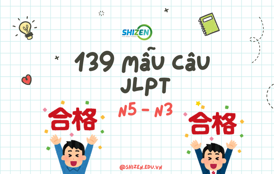 các mẫu câu trong JLPT